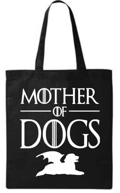 Southern Paws Mother Of Dogs Small Tote