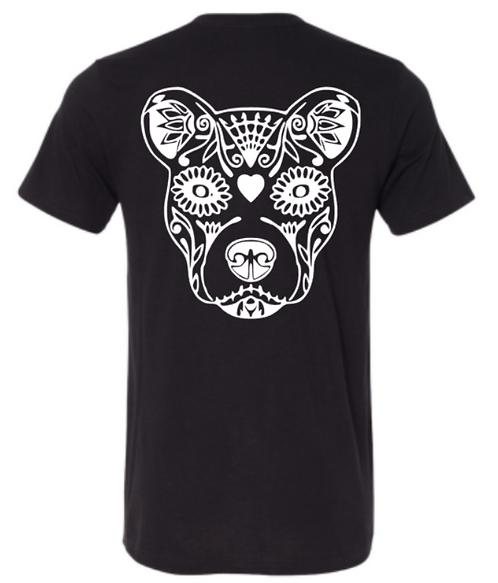 Southern Paws Sugar Skull Pittie T-Shirt