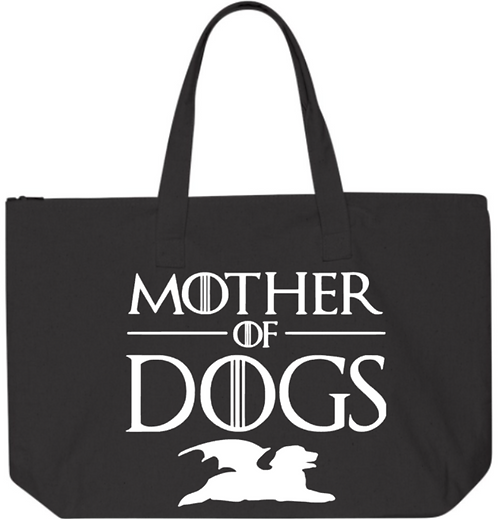 Southern Paws Mother Of Dogs Jumbo Tote