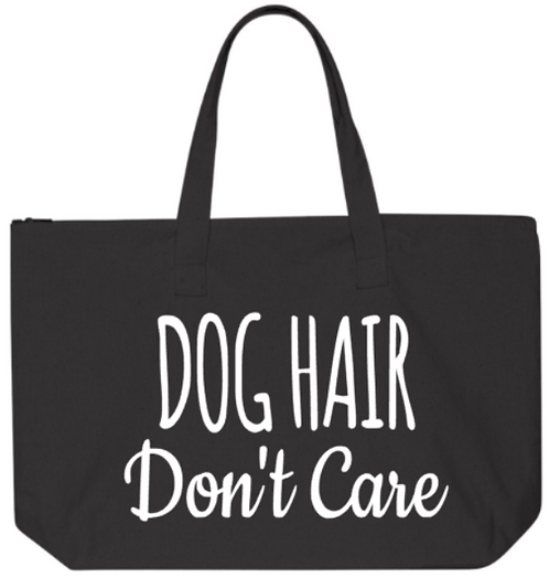 Southern Paws Dog Hair Don't Care Jumbo Tote
