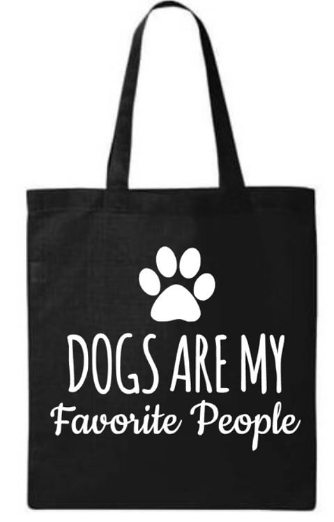 Southern Paws Dogs Are My Favorite People Small Tote
