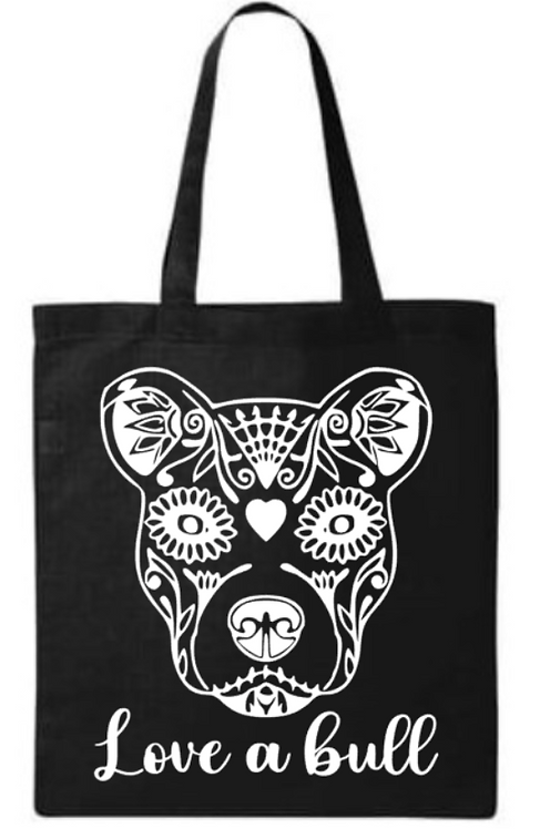 Southern Paws Love A Bull Small Tote