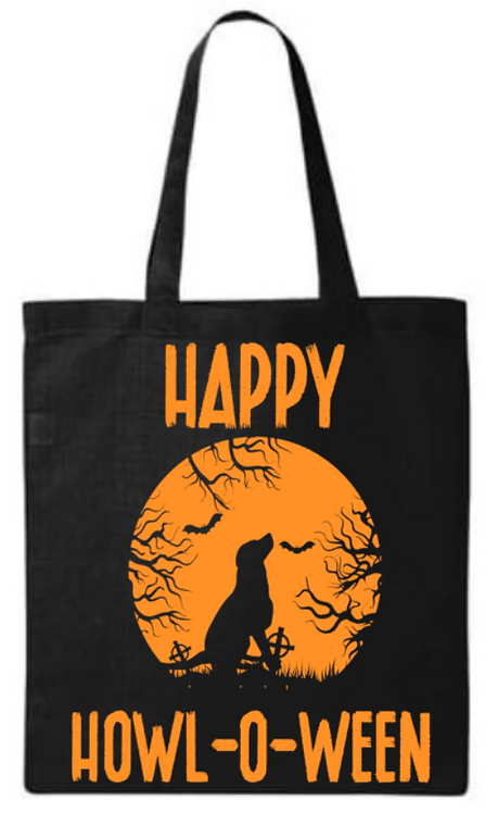 Happy Hawl-o-ween Southern Paws Tote Bag