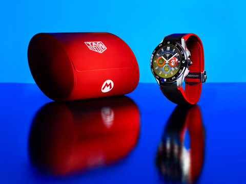 TAG Heuer's 1-Up on the watch industry x Super Mario collab