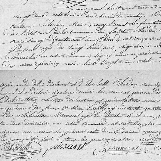 naissance antoinette puissant 1837 saint