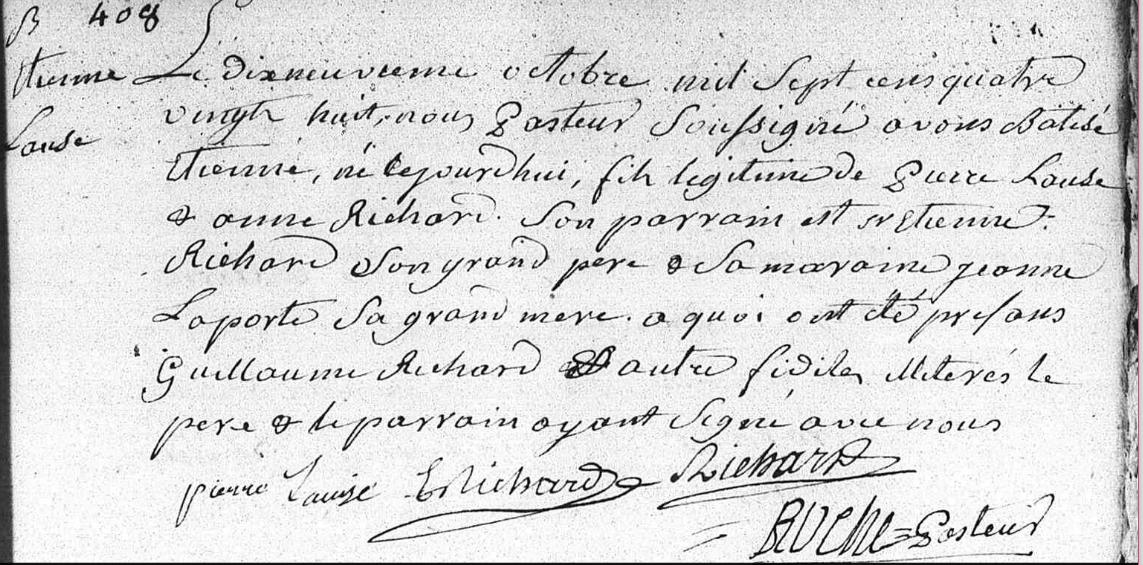 NAISSANCE ETIENNE LAUZE LE 19.10.1788.pn