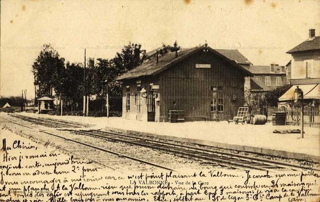 carte postale la valbonne pour Valsonne 1902.jpg