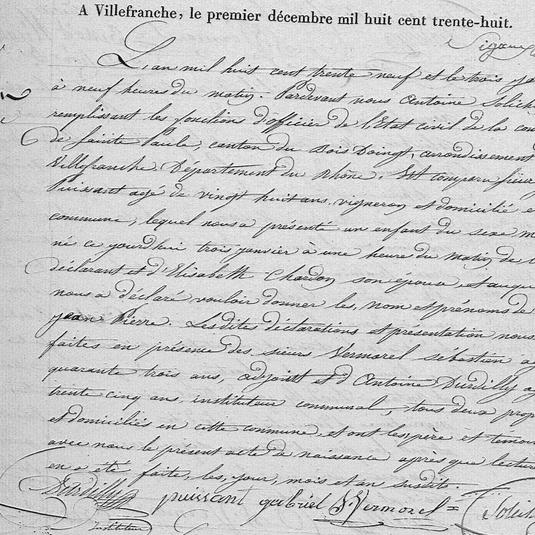 naissance jean pierre puissant 1839 sain