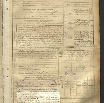 matricule 839 emile guyot 1899 page 2.jp