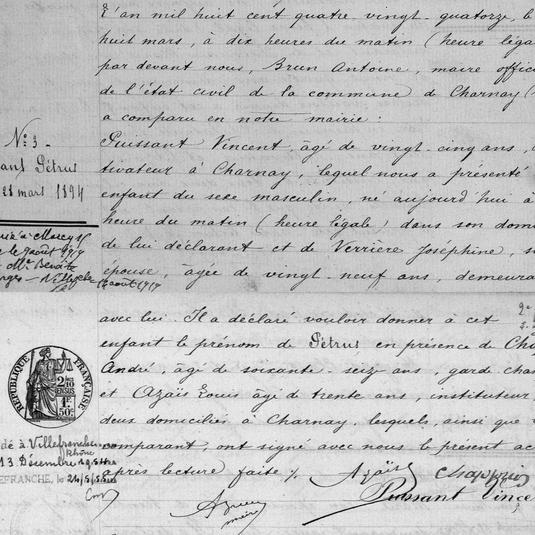 naissance petrus puissant 1894 charnay 4