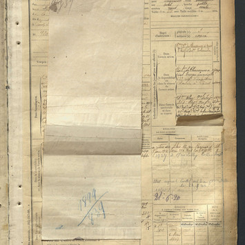 matricule 839 emile guyot 1899 page 1.jp