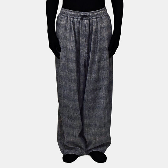 wool back warp easy pants