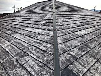 熊本県熊本市東区 О様邸 屋根塗装工事/その他塗装 施工前(塗装前)