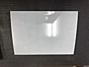 熊本の外壁塗装・屋根塗装工事専門店 ペイントデポ  薄い鉄板に下塗り材を塗ったサンプル