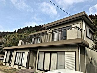 セキスイハイムパルフェの外壁塗装 熊本県菊池市 W様邸 外壁塗装工事