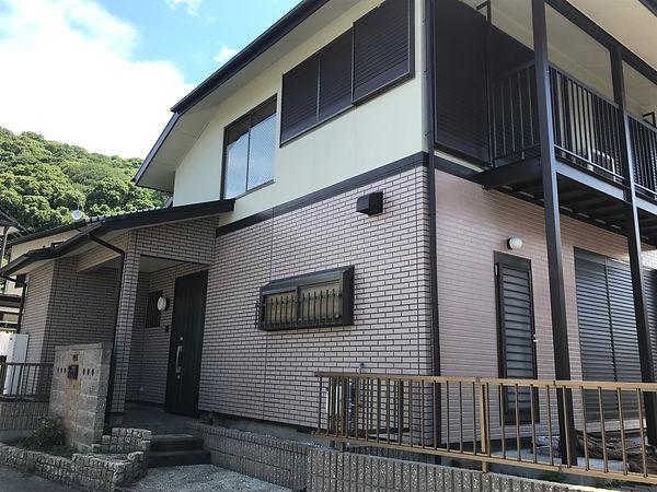 熊本県熊本市西区 外壁塗装工事 施工後(塗装後) ペイントデポ