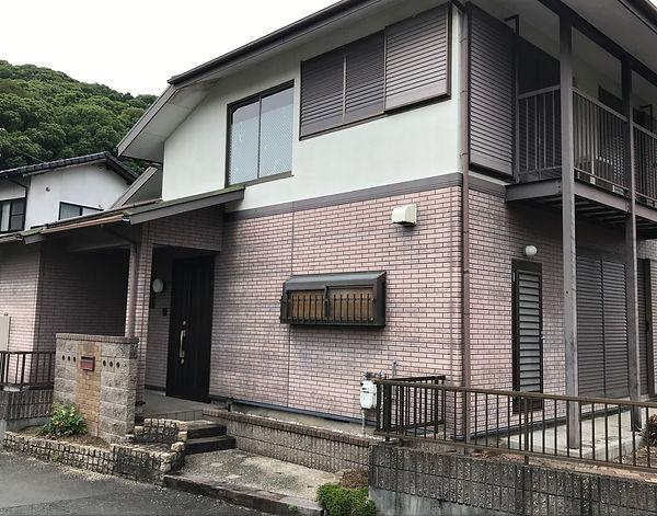 熊本県熊本市西区 外壁塗装工事 施工前(塗装前) ペイントデポ