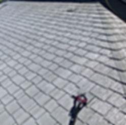 熊本県熊本市西区 T様邸 屋根塗装工事 下塗り2回目(ローラー塗り)【ペイントデポ】