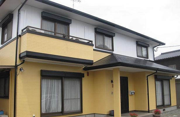 熊本県熊本市中央区 T様邸 外壁塗装・屋根塗装工事 施工後