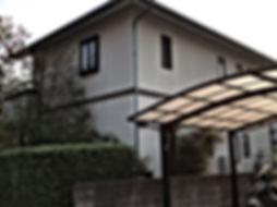 熊本県熊本市北区T様邸 屋根外壁塗装工事 施工前 ペイントデポ