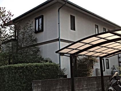 セキスイハウスの外壁塗装・屋根塗装 熊本県熊本市北区T様邸 屋根外壁塗装工事 施工前 ペイントデポ