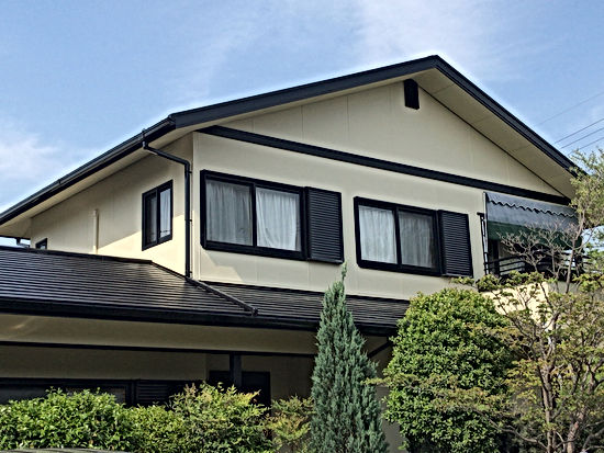 セキスイハウスの外壁塗装・屋根塗装 熊本県熊本市北区T様邸 屋根外壁塗装工事 施工後 ペイントデポ