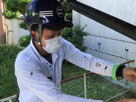 熊本の外壁塗装・屋根塗装工事専門店 ペイントデポ スタッフ紹介 工事主任