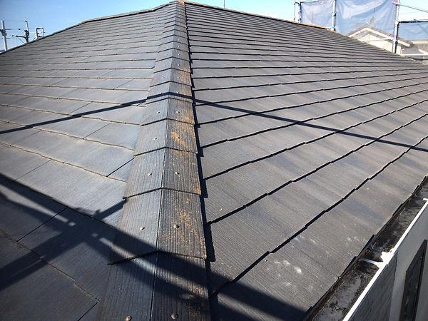 熊本県熊本市北区 屋根塗装工事 施工前 ペイントデポ