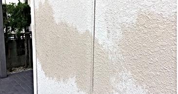 セキスイハイムパルフェ 熊本の外壁塗装・屋根塗装工事専門店 ペイントデポ 金属系サイディングボードの塗装の劣化による水のしみ込み