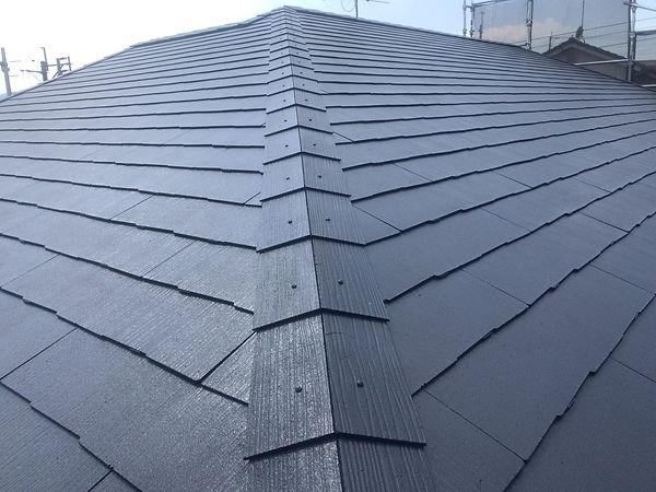 熊本県熊本市北区 屋根塗装工事 施工後 ペイントデポ
