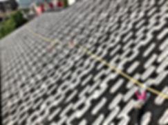 熊本県熊本市西区 T様邸 屋根塗装工事 下塗り1回目(ハケ塗り)【ペイントデポ】