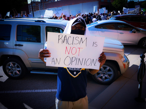 Racism Is Not an Opinion - George Floyd March