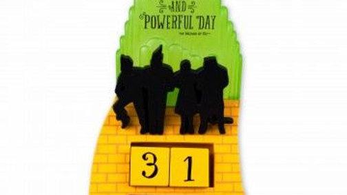 Wizard of Oz Block Calendar