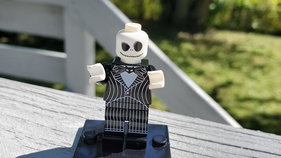 Jack Skellington Lego Figurine