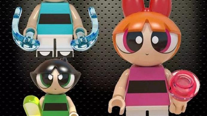 Power Puff Girls Lego Figures