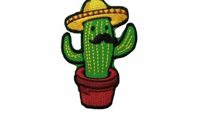 Sombrero Cactus | Iron On Patch