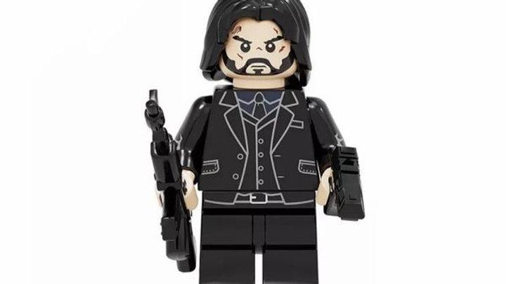 John Wick Lego Figure