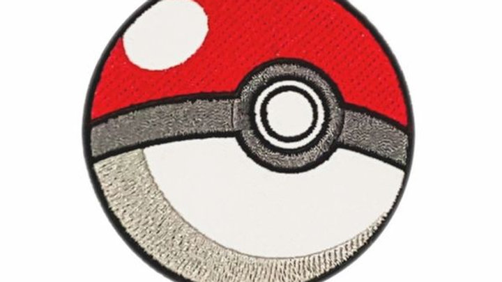 Pokeball | Pokemon Iron On Patch