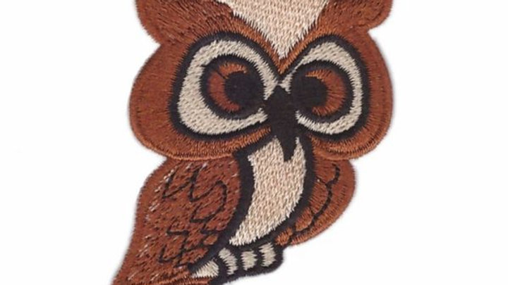 Owl Iron On Patch