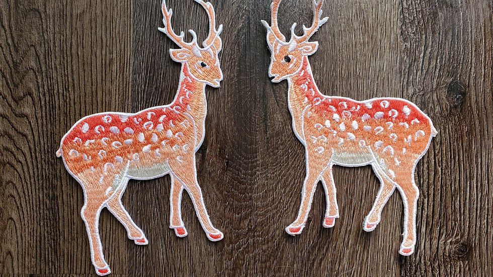 Deer | Buck Iron On Patch