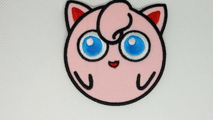 Jiggly Puff | Pokemon Iron On Patch