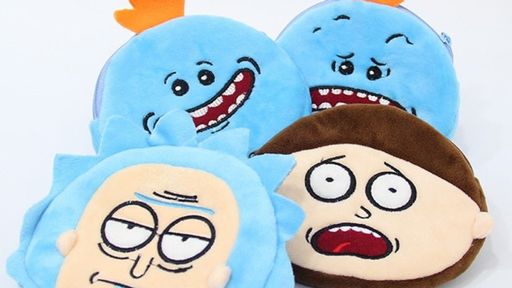 Rick and Morty Coin Pouches
