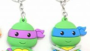 Teenage Mutant Ninja Turtle Key Chains