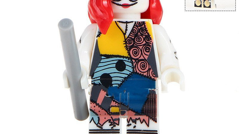 Sally | Nightmare Before Christmas Lego Figure
