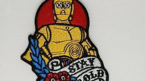 C-3PO | Star Wars Iron On Patch