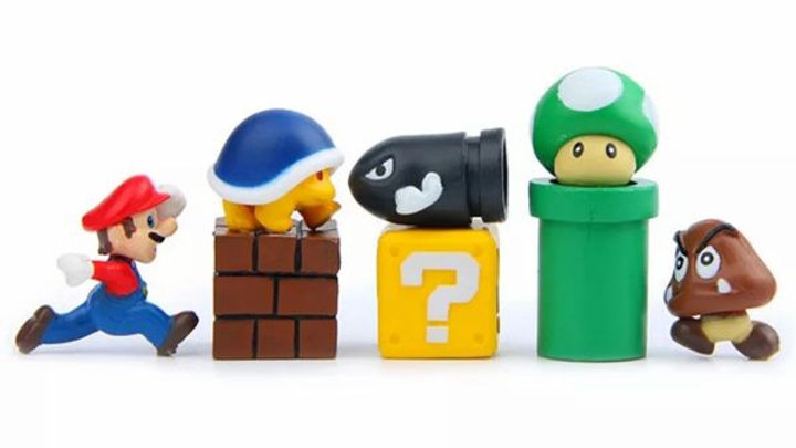 Mario Mini Figures | 8pc set