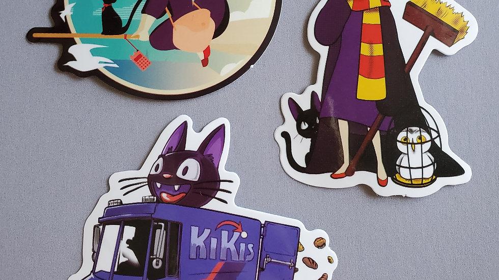 Kiki's Delivery Service | Studio Ghibli Stickers