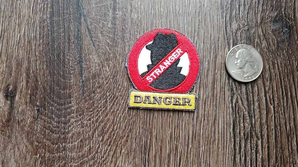 Stranger Danger Iron On Patch