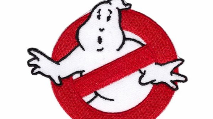 Ghost Busters Iron On Patch