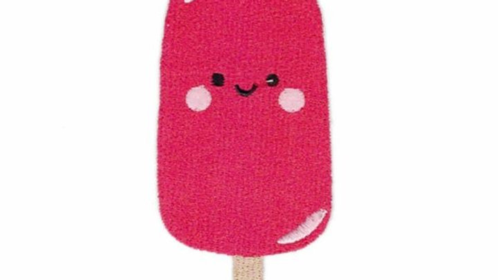 Pink Popsicle | Iron On Patch